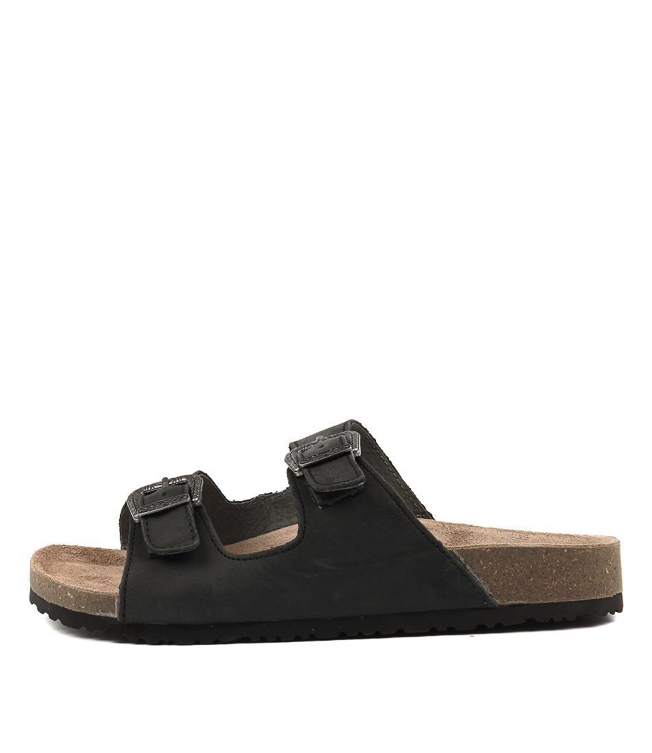 Colorado West Cf Black Casual Flat Sandals