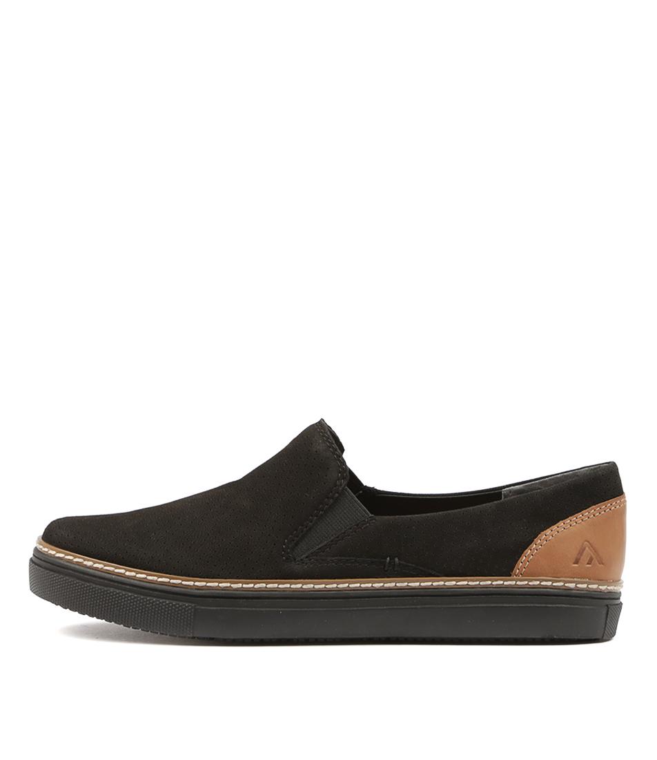 Colorado Lizzabe Black Tan Sneakers