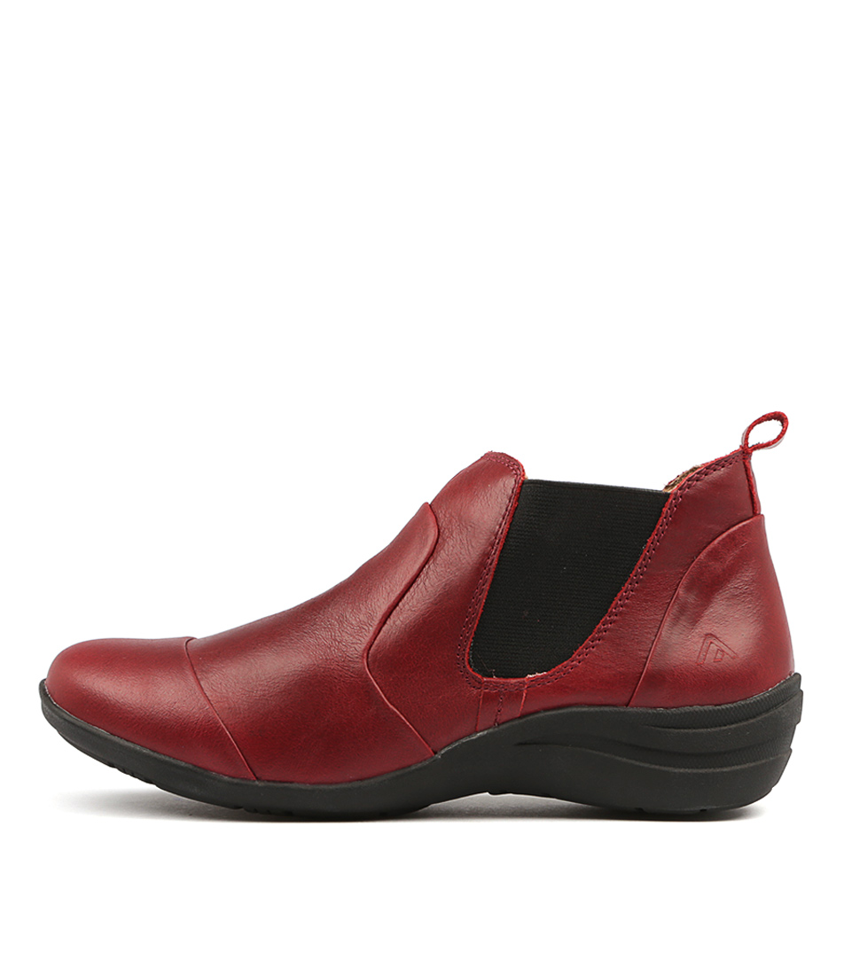 Colorado Beauty Cf Red Ankle Boots