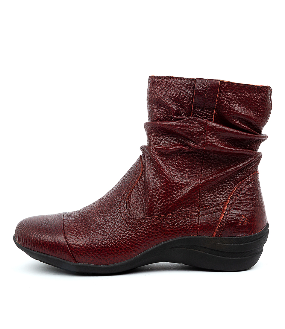 Buy Colorado Burton Cf Red Ankle Boots online with free shipping