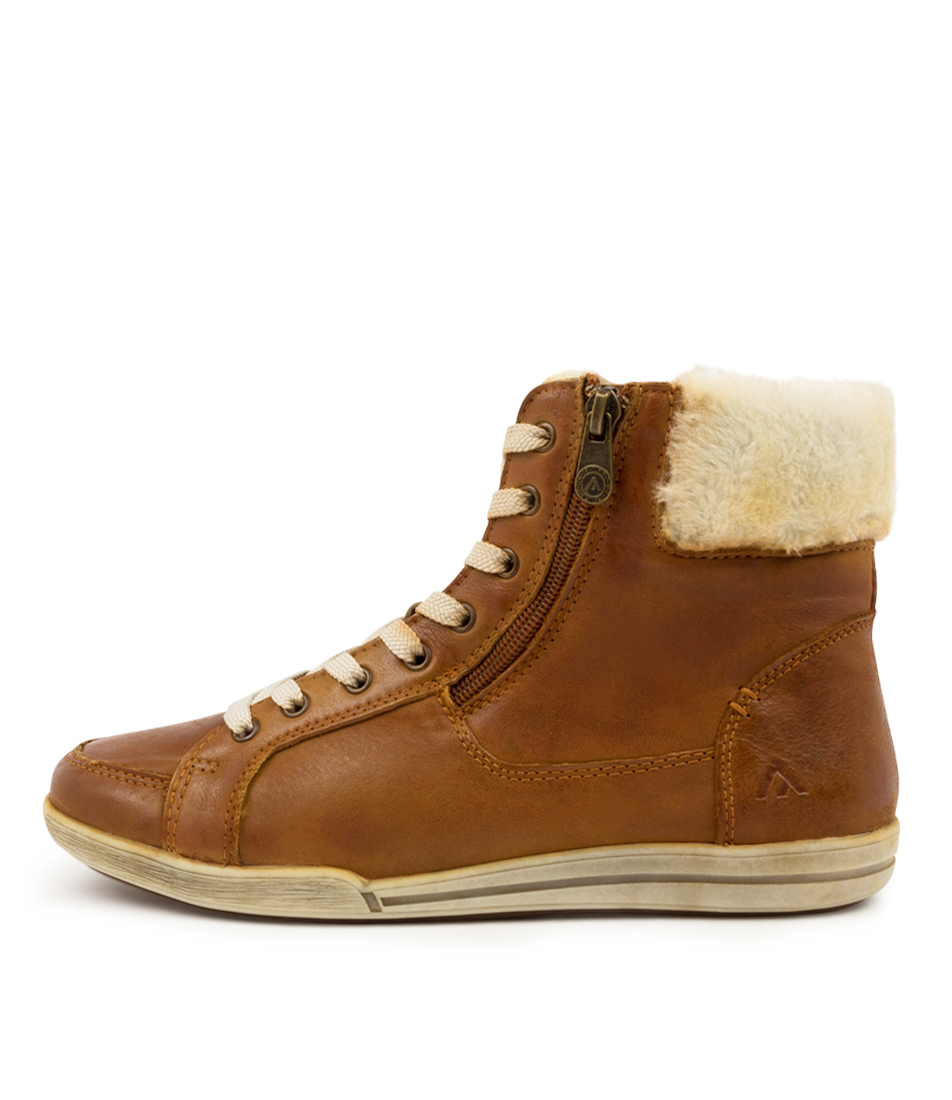 Buy Colorado Mathis Cf Tan Ankle Boots online with free shipping