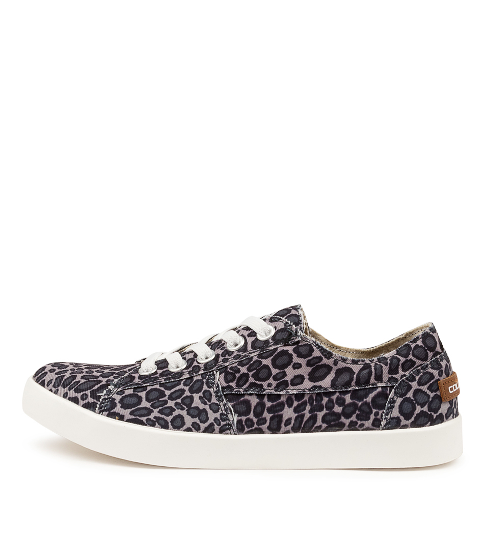 Buy Colorado Elven Cf Black & Grey Leopard Flats online with free shipping