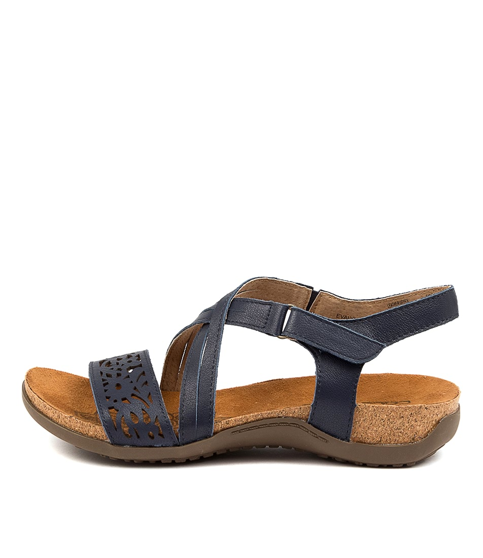 Buy Colorado Evalyn Cf Navy Flat Sandals online with free shipping