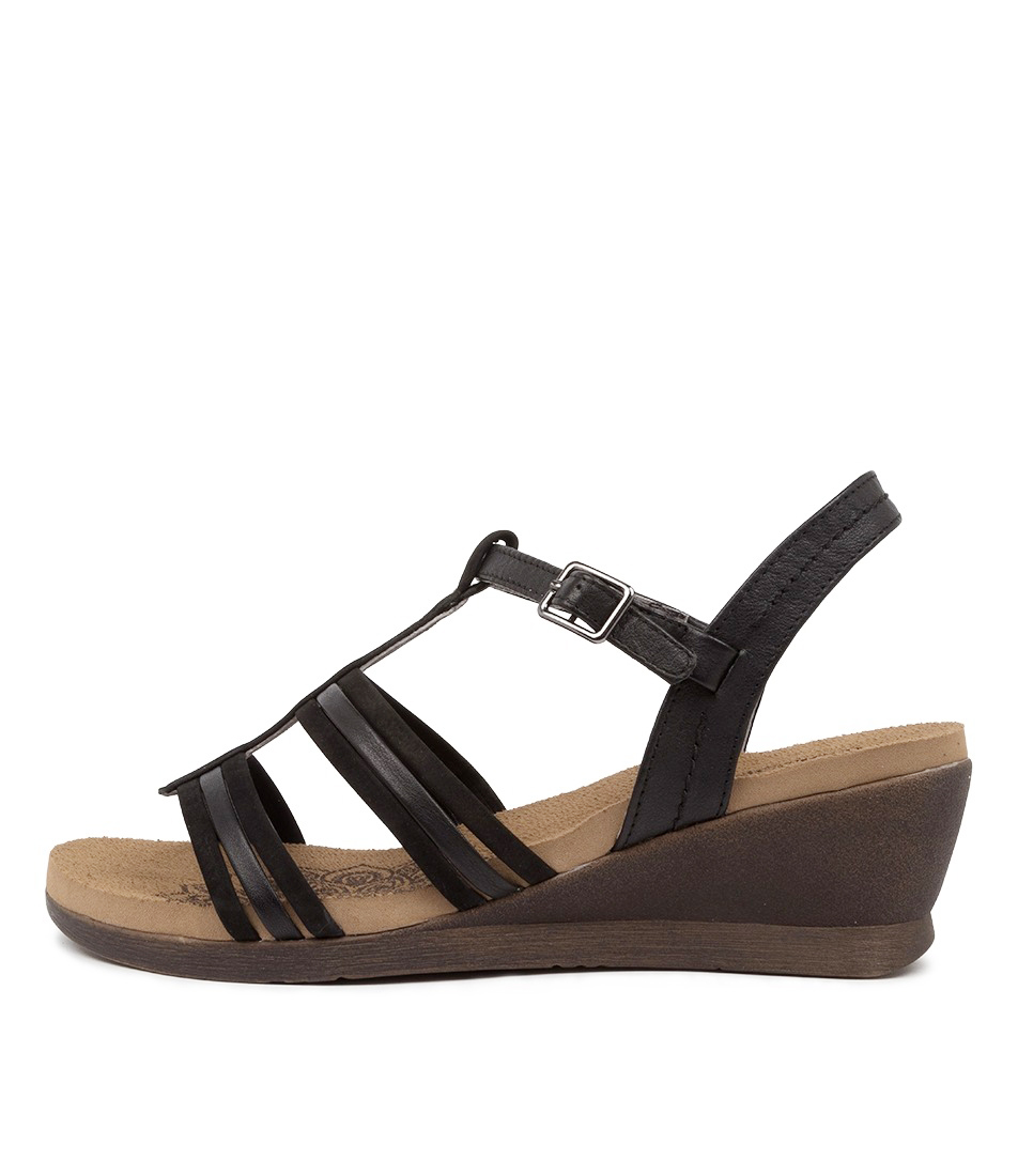 Buy Colorado Gunners Cf Black Heeled Sandals online with free shipping