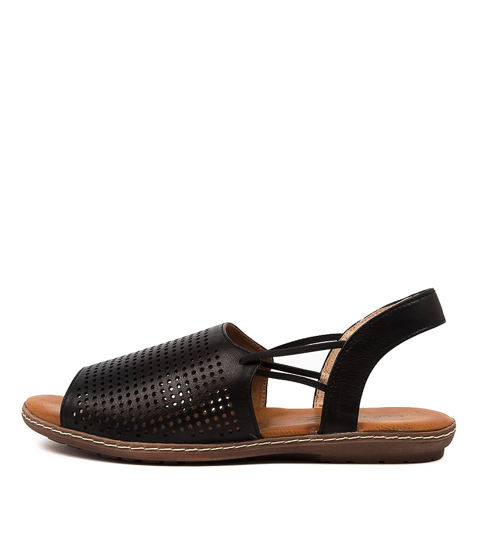 Buy Colorado Drill Cf Black E Flat Sandals online with free shipping