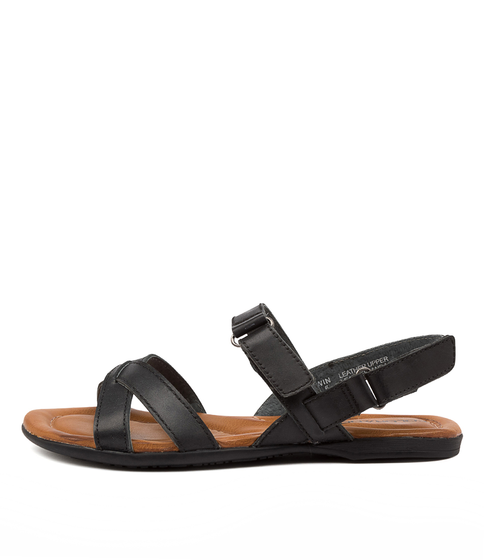 Buy Colorado Kirwin Cf Black Flat Sandals online with free shipping
