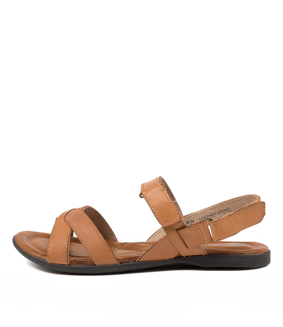 Buy Colorado Kirwin Cf Tan Flat Sandals online with free shipping