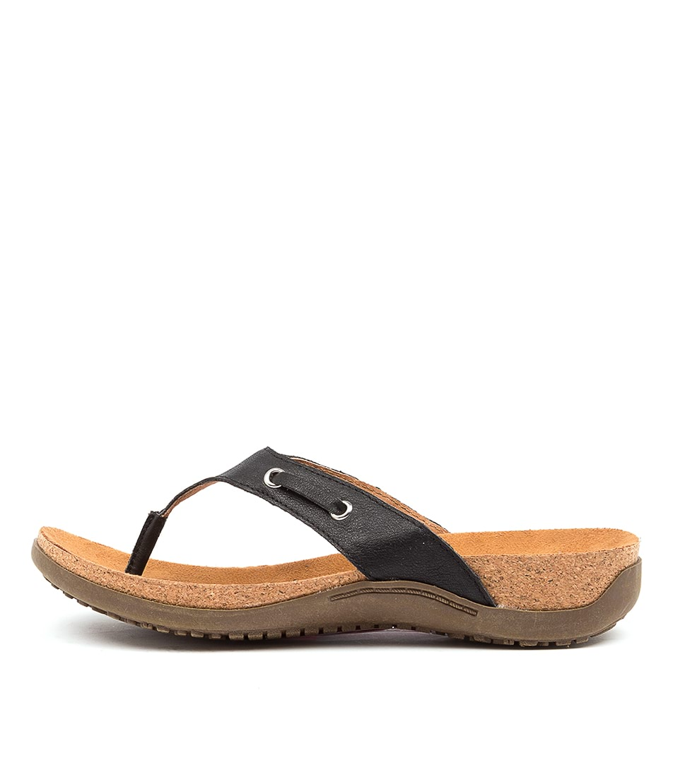 Buy Colorado Embry Cf Black Flat Sandals online with free shipping