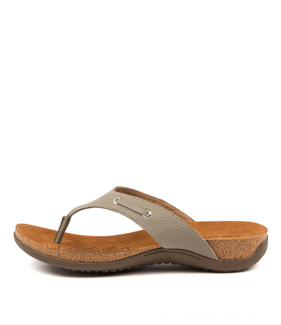 Buy Colorado Embry Cf Khaki Flat Sandals online with free shipping