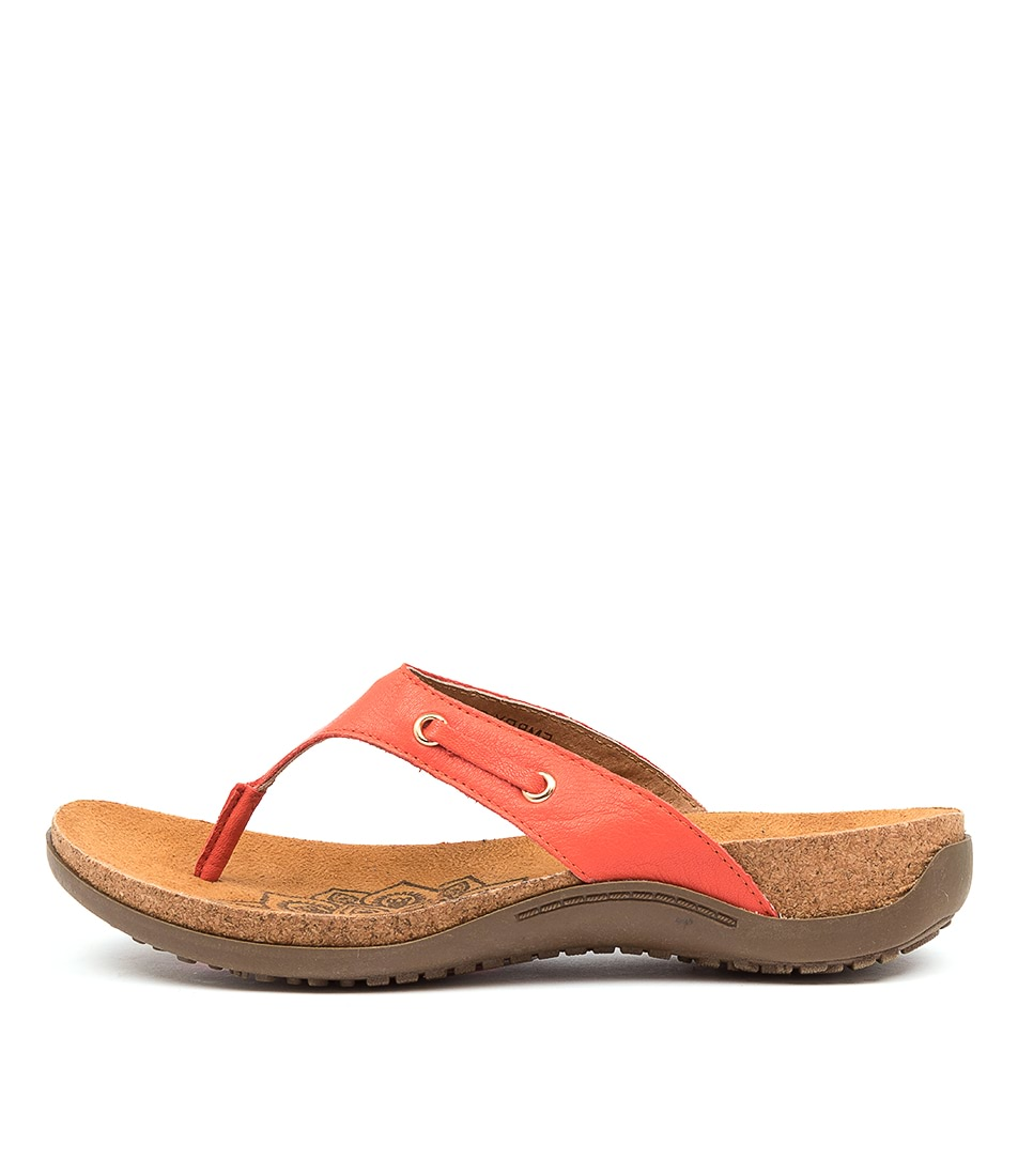 Buy Colorado Embry Cf Red Flat Sandals online with free shipping