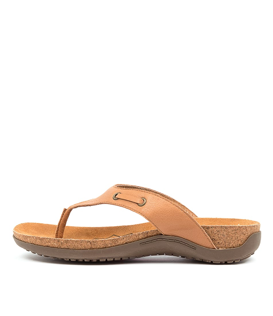 Buy Colorado Embry Cf Tan Flat Sandals online with free shipping