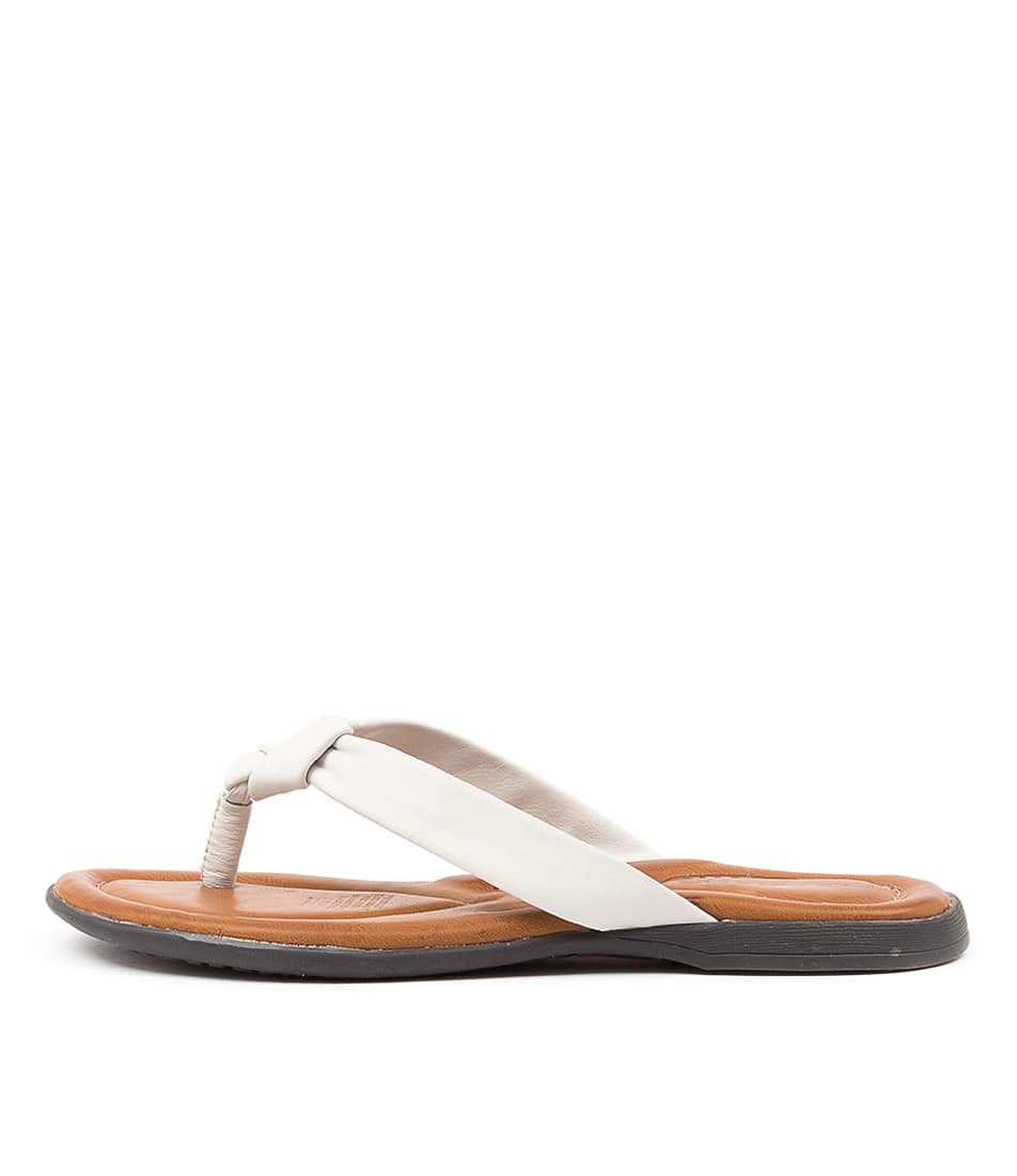 Buy Colorado Kally Cf Ivory Flat Sandals online with free shipping