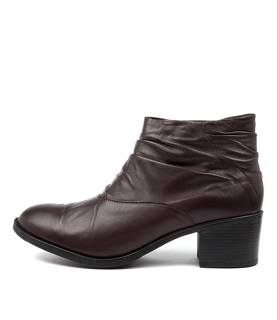 Buy Colorado Coppla Cf Burgundy Ankle Boots online with free shipping