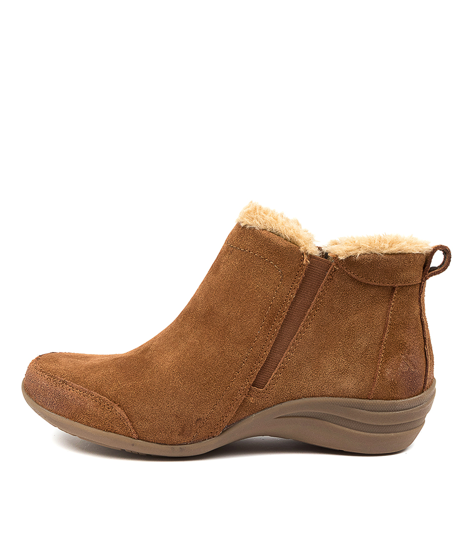 Buy Colorado Beaumont Cf Brandy Natural Ankle Boots online with free shipping