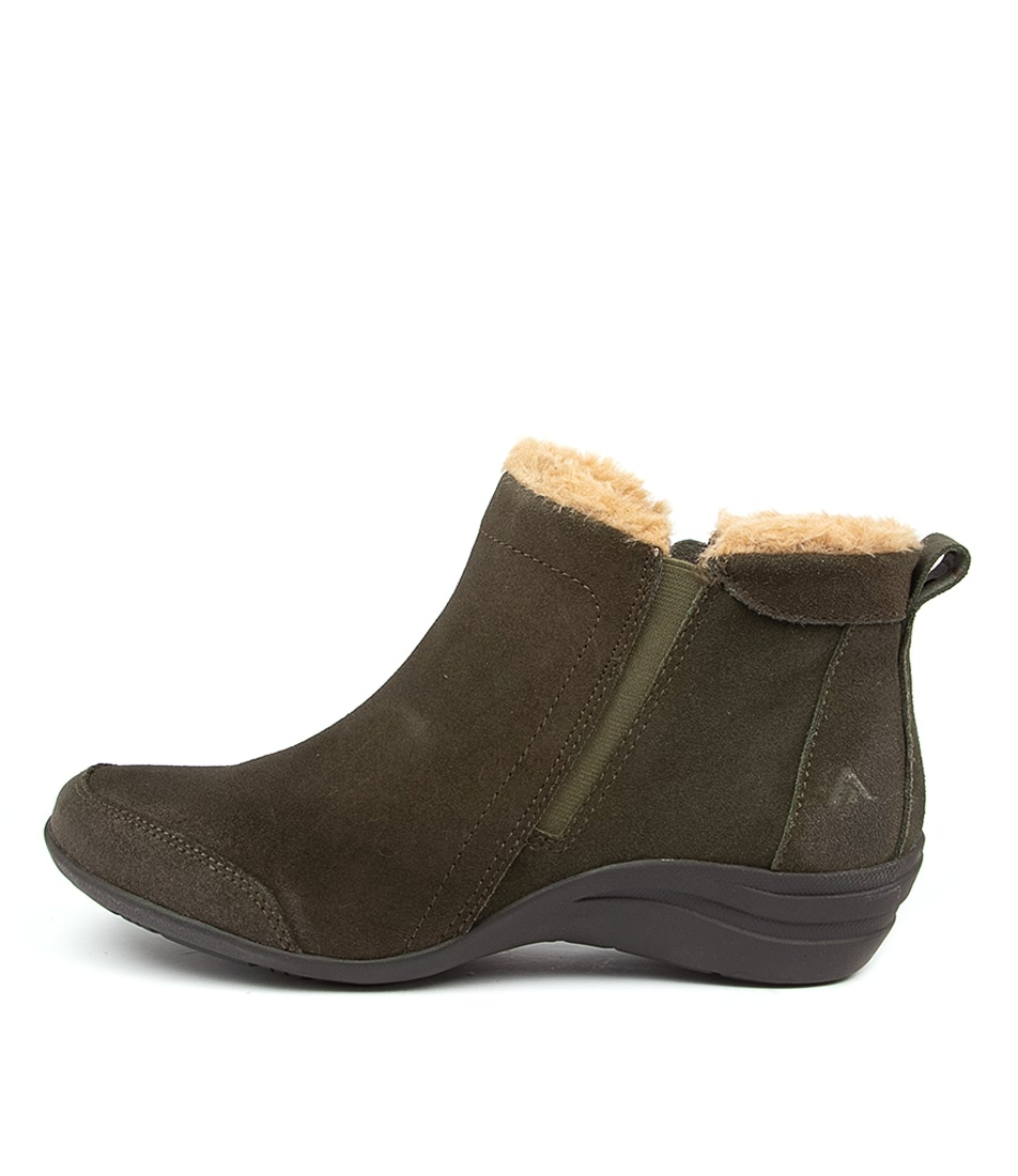 Buy Colorado Beaumont Cf Khaki Natural Ankle Boots online with free shipping
