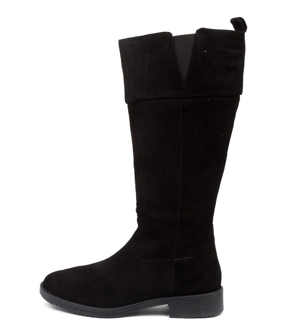 Buy Colorado Qamie Cf Black Calf Boots online with free shipping