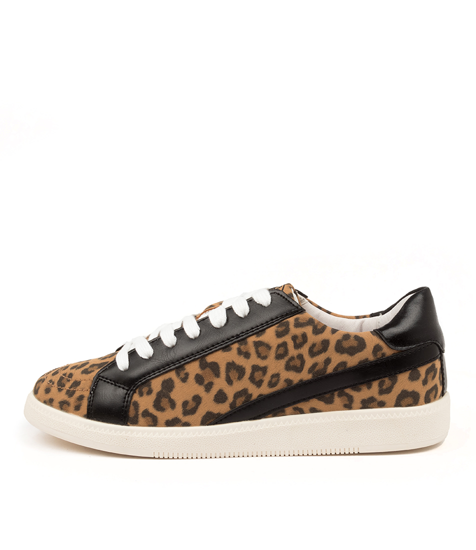Buy Colorado Frenemy Cf Tan Leopard Black Sneakers online with free shipping