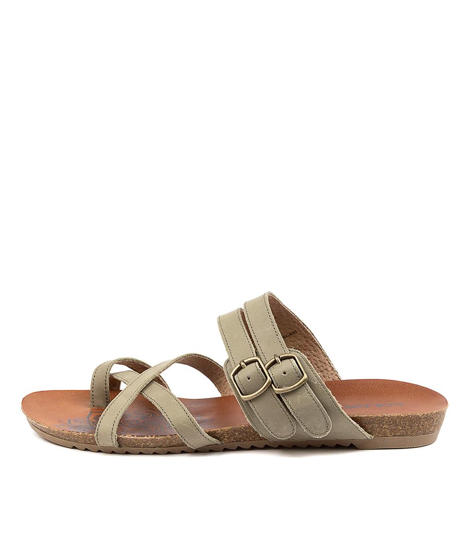 Buy Colorado Adadirondack Cf Khaki Flat Sandals online with free shipping