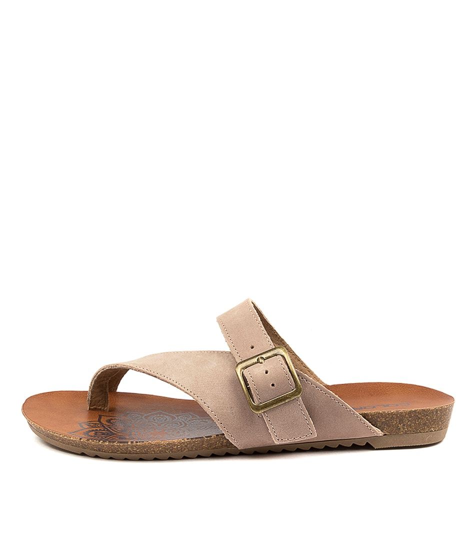 Buy Colorado Ancona Cf Rose Flat Sandals online with free shipping