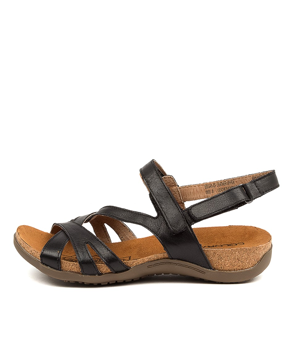 Buy Colorado Edgar Cf Black Flat Sandals online with free shipping