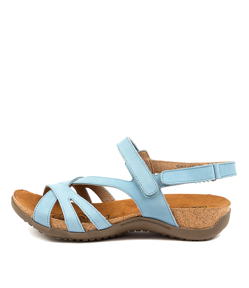 Buy Colorado Edgar Cf Lt Denim Sandals Flat Sandals online with free shipping