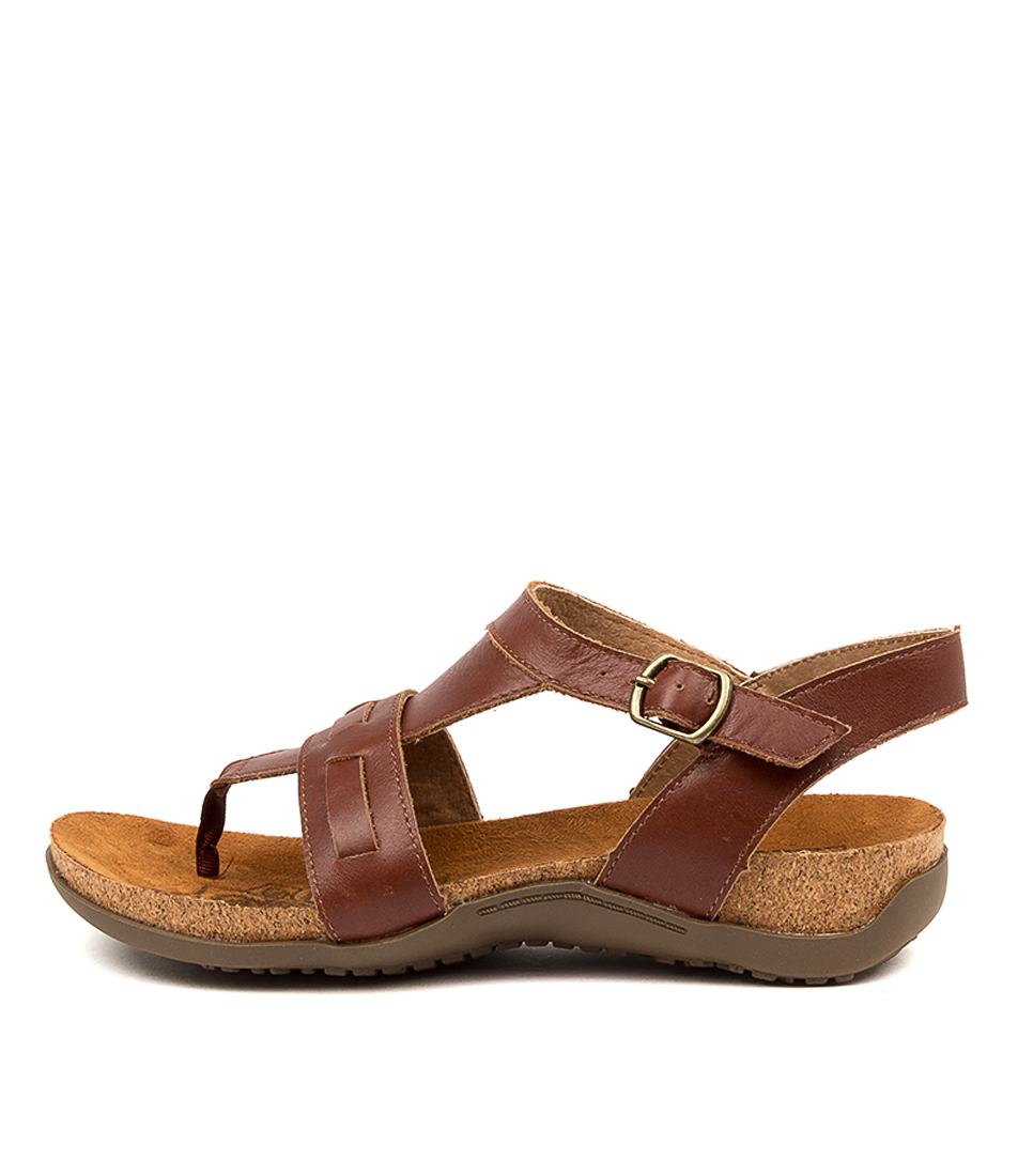 Buy Colorado Edom Cf Dk Tan Sandals Flat Sandals online with free shipping