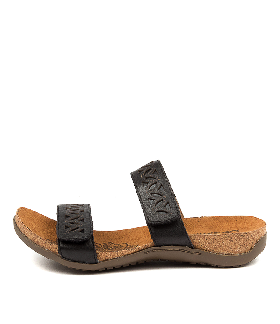 Buy Colorado Evangelina Cf Black Sandals Flat Sandals online with free shipping