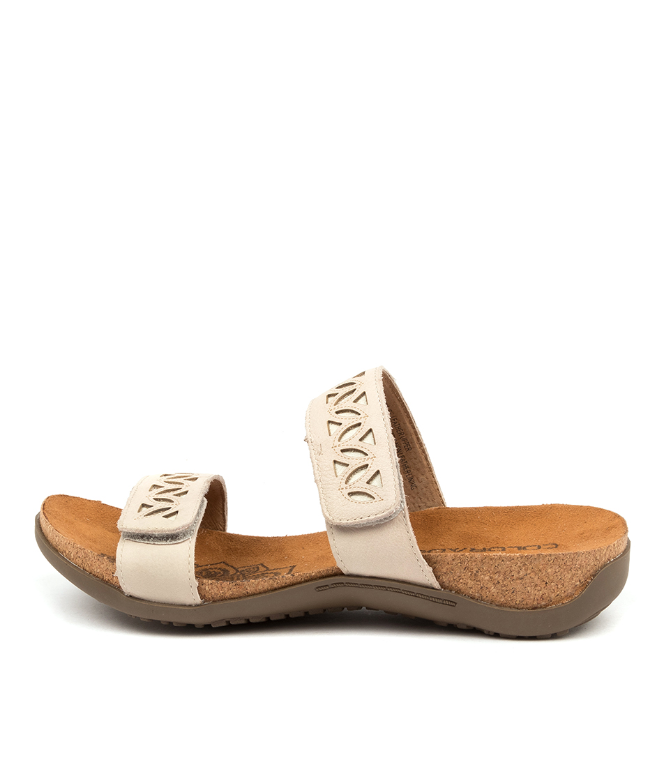 Buy Colorado Evangelina Cf Off White Sandals Flat Sandals online with free shipping