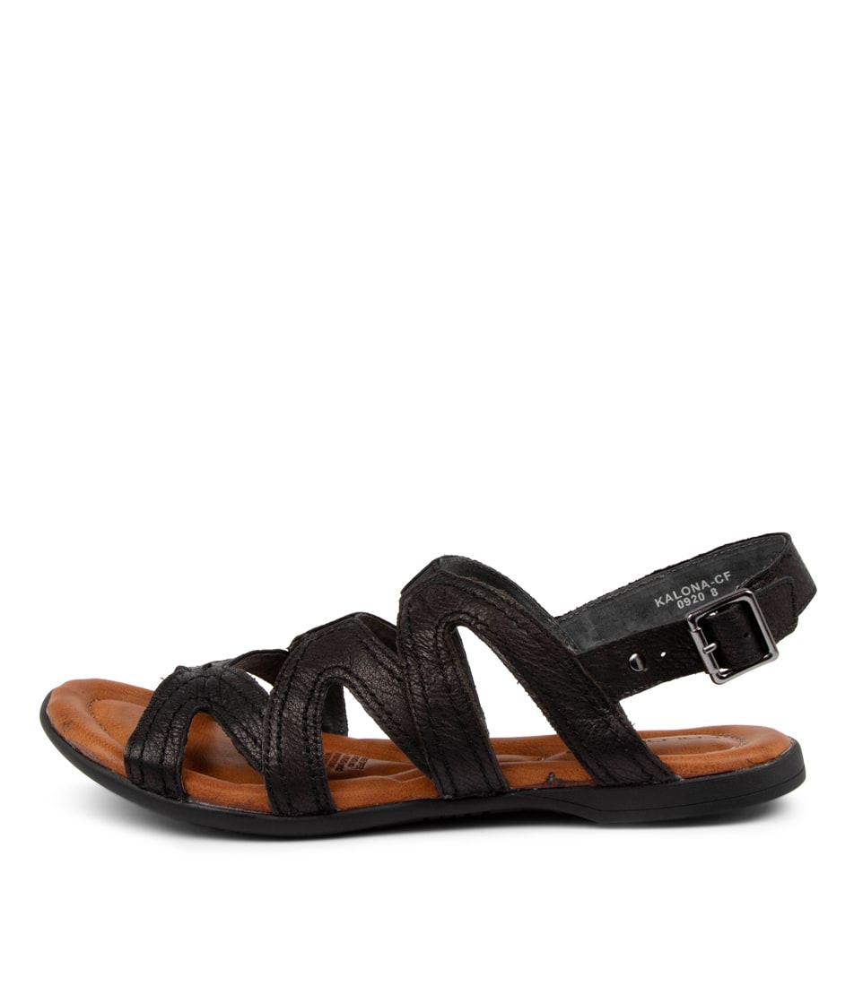 Buy Colorado Kalona Cf Black Sandals Flat Sandals online with free shipping