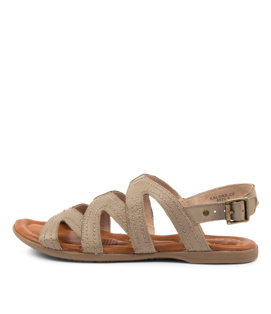 Buy Colorado Kalona Cf Olive Flat Sandals online with free shipping