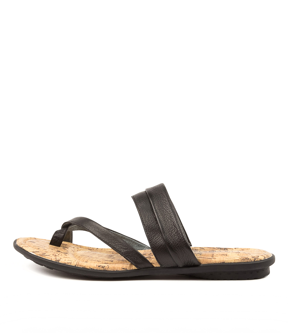 Buy Colorado Sancho Cf Black Flat Sandals online with free shipping