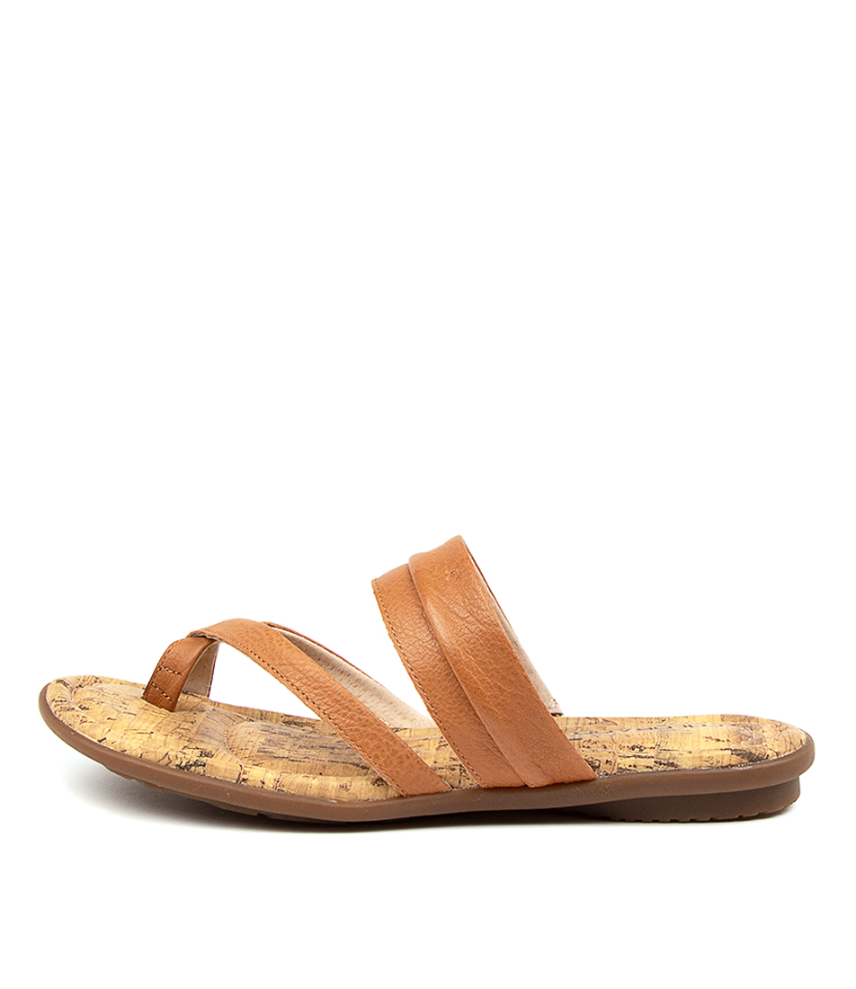 Buy Colorado Sancho Cf Dk Tan Flat Sandals online with free shipping