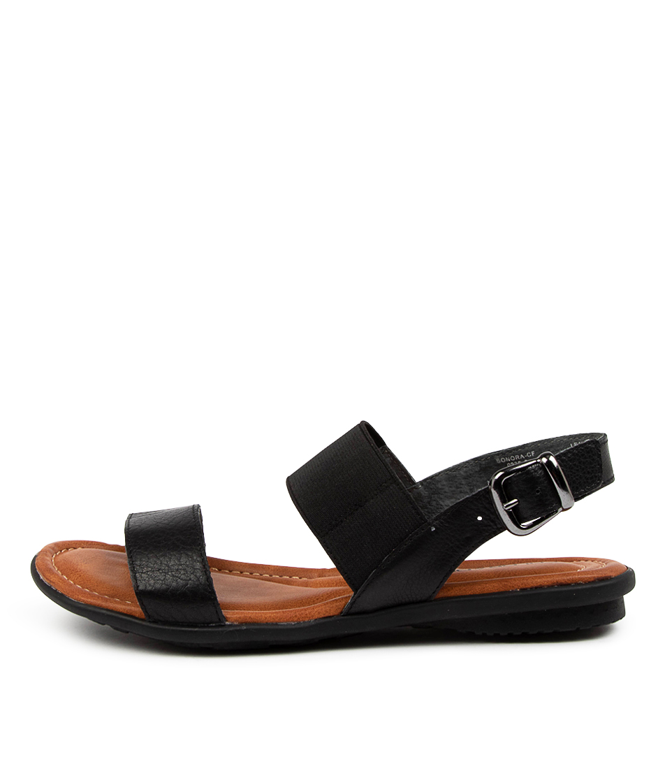 Buy Colorado Sonora Cf Black Flat Sandals online with free shipping