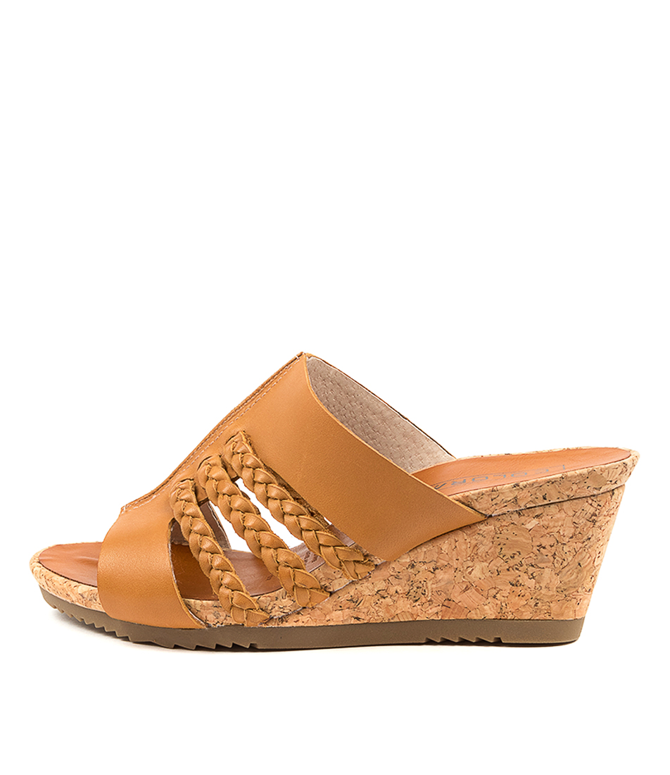 Buy Colorado Margit Cf Tan Heeled Sandals online with free shipping
