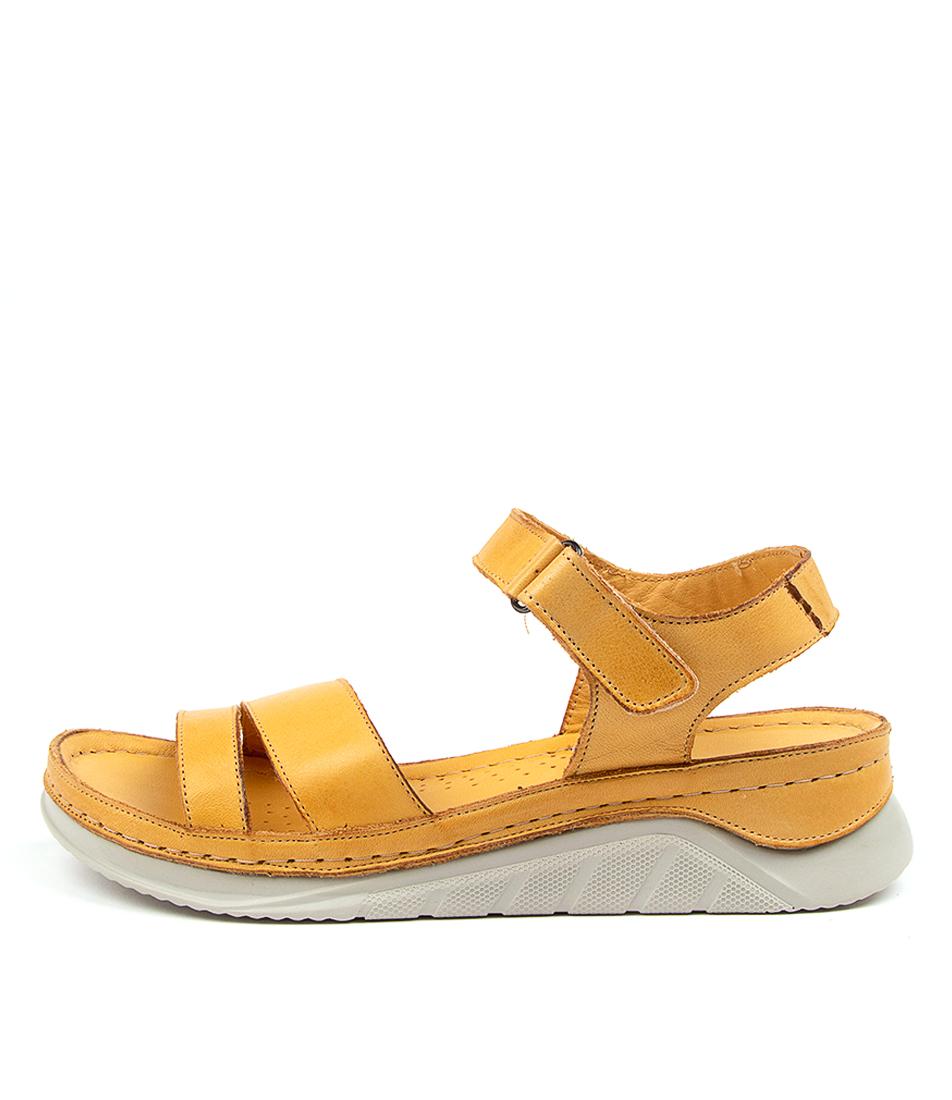 Buy Colorado Allishha Cf Yellow Heeled Sandals online with free shipping