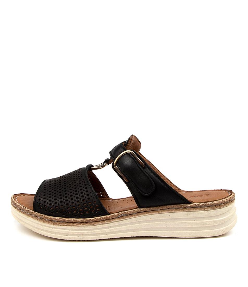 Buy Colorado Lesatas Cf Black Heeled Sandals online with free shipping