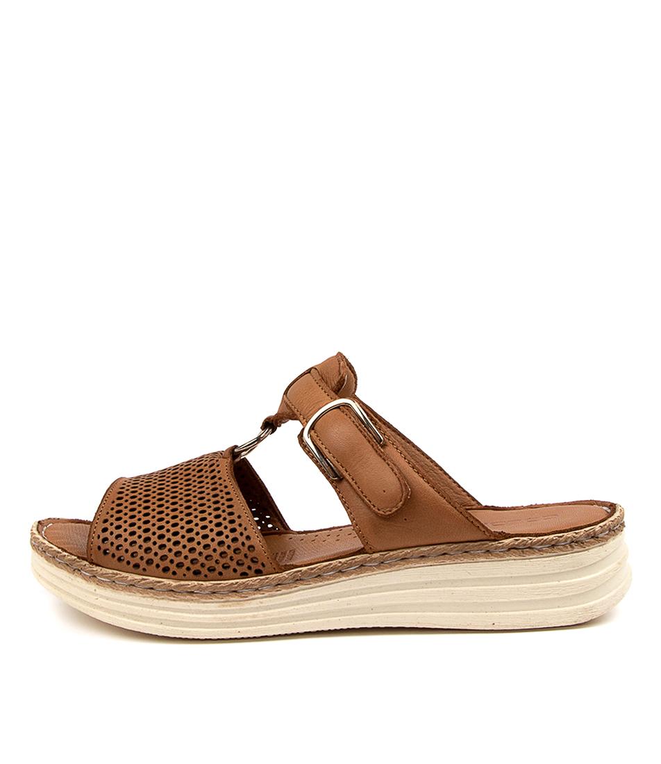 Buy Colorado Lesatas Cf Tan Heeled Sandals online with free shipping