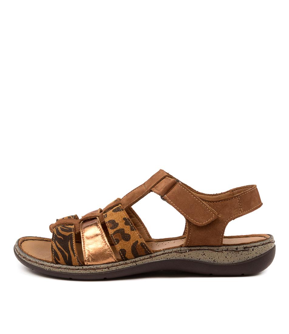 Buy Colorado Martie Cf Cognac Heeled Sandals online with free shipping