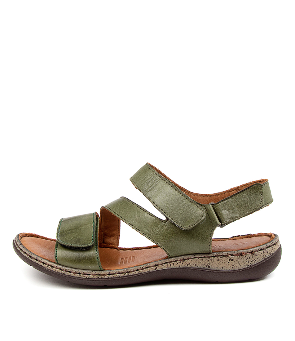Buy Colorado Mincent Cf Olive Heeled Sandals online with free shipping