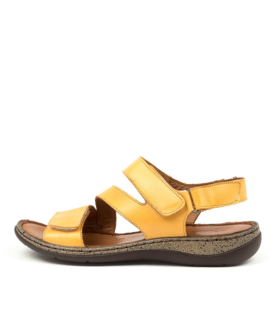 Buy Colorado Mincent Cf Yellow Heeled Sandals online with free shipping