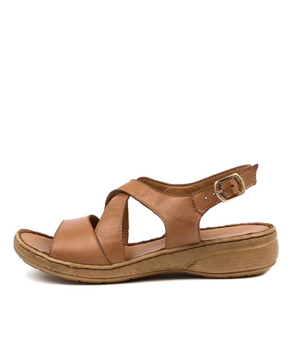 Buy Colorado Tomalis Cf Tan Heeled Sandals online with free shipping