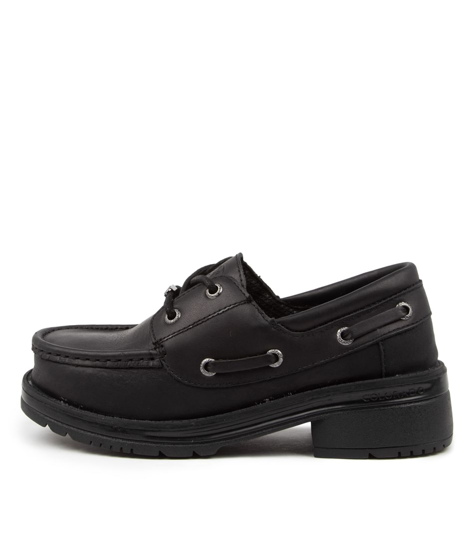 Buy Colorado Abagail Cf Black Flats online with free shipping