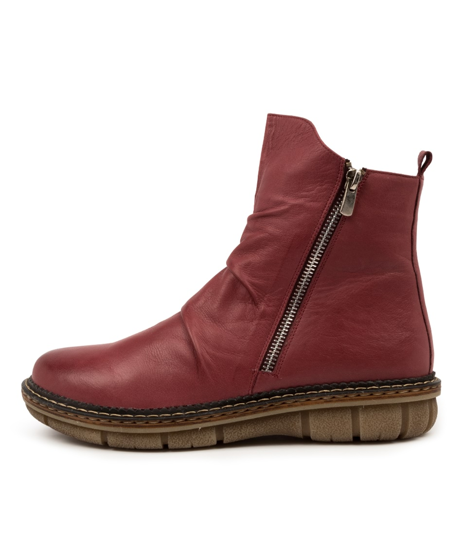Buy Colorado Anina Cf Wine Ankle Boots online with free shipping