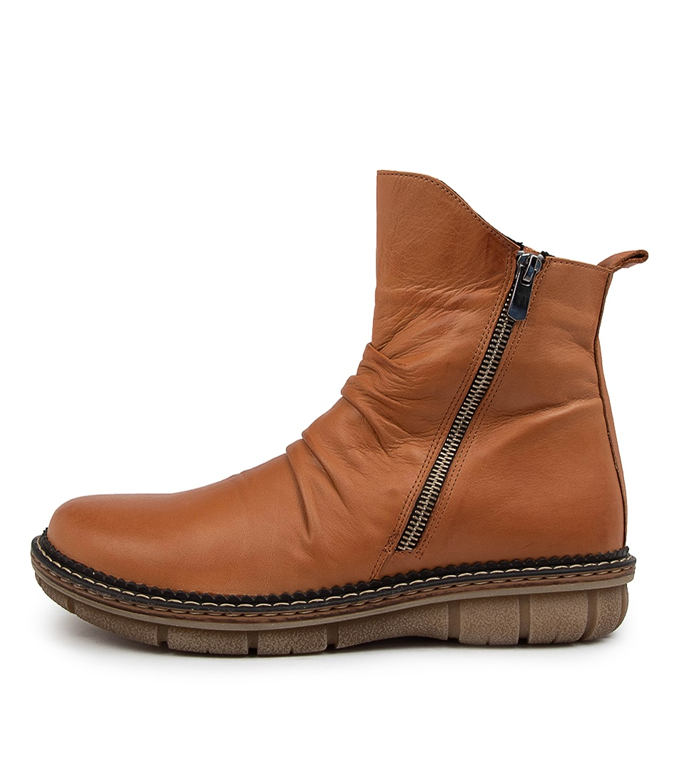 Buy Colorado Anina Cf Tan Ankle Boots online with free shipping