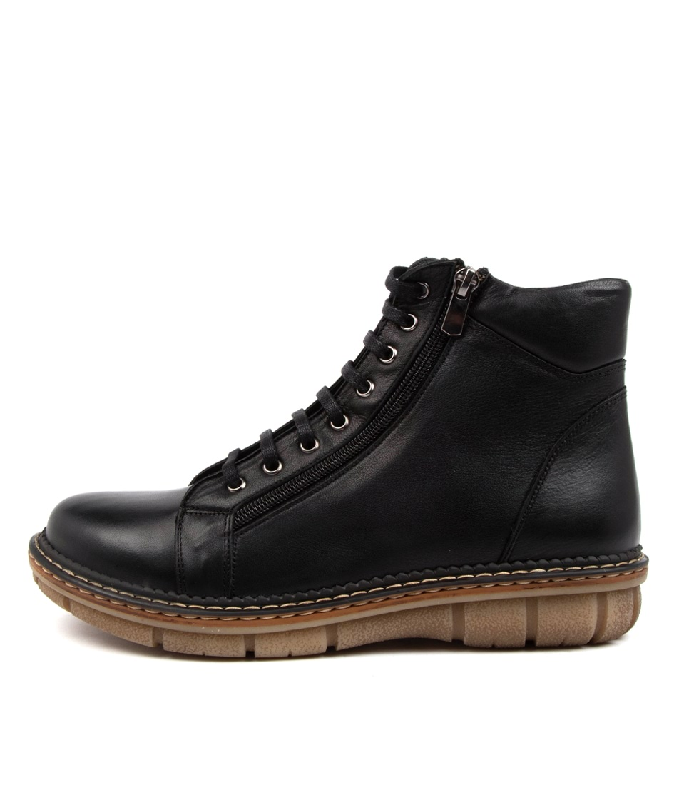 Buy Colorado Asarah Cf Black Ankle Boots online with free shipping