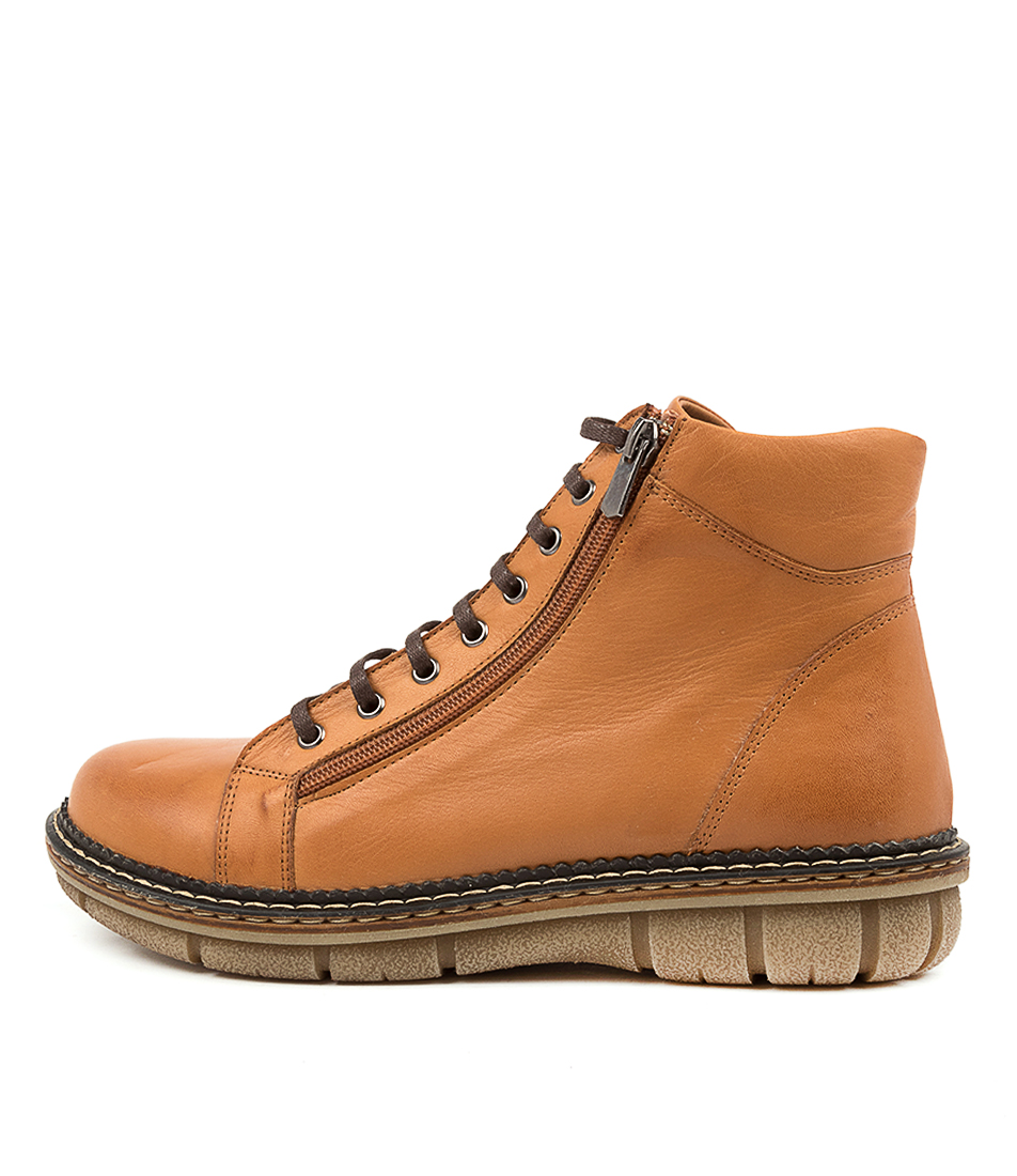 Buy Colorado Asarah Cf Tan Ankle Boots online with free shipping