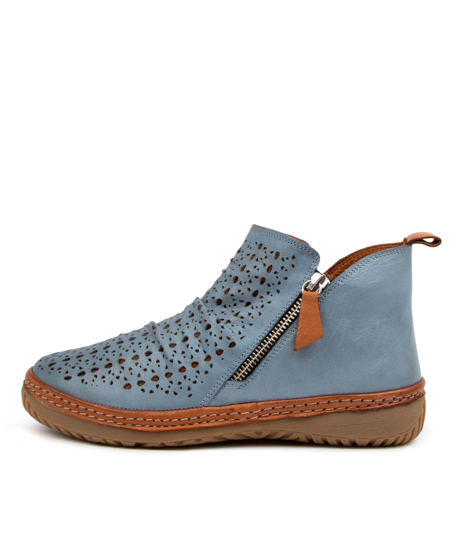 Buy Colorado Deneat Cf Denim Tan Ankle Boots online with free shipping