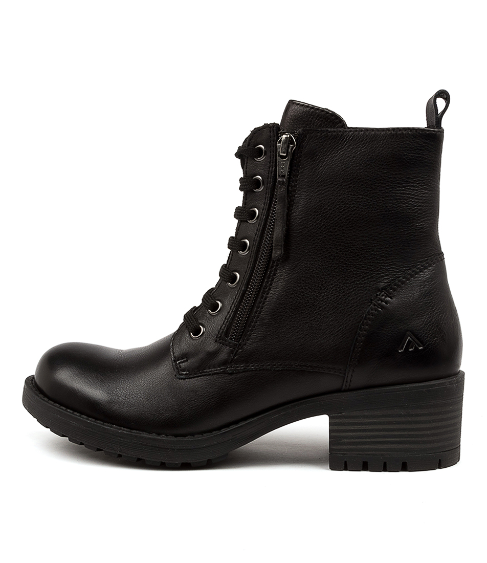 Buy Colorado Filfield Cf Black Ankle Boots online with free shipping