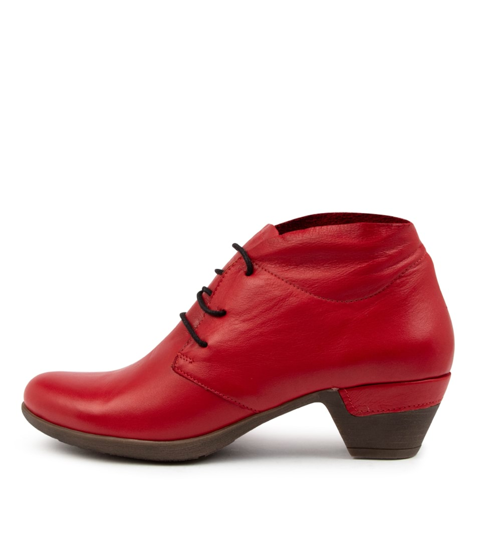 Buy Colorado Liabirrd Cf Dk Red Ankle Boots online with free shipping