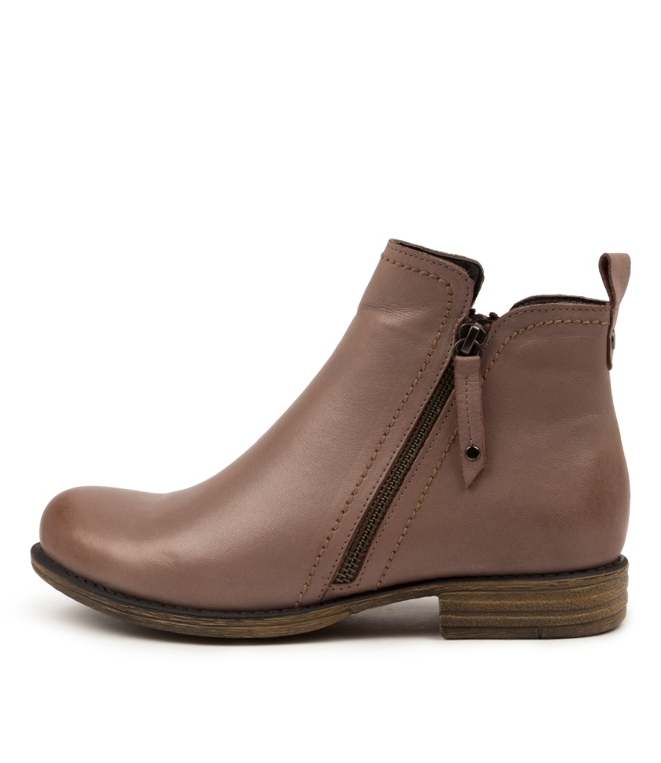 Buy Colorado Evor Cf Taupe Ankle Boots online with free shipping